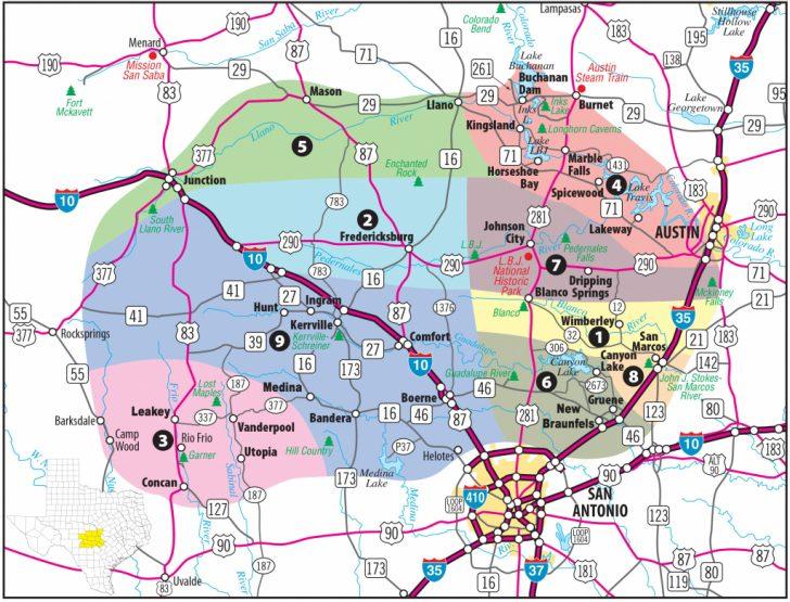 Lakeway Texas Map