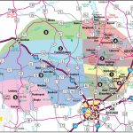 Texas Hill Country Map With Cities & Regions · Hill-Country-Visitor - Luckenbach Texas Map