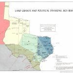 Texas Historical Maps - Perry-Castañeda Map Collection - Ut Library - Lands Of Texas Map