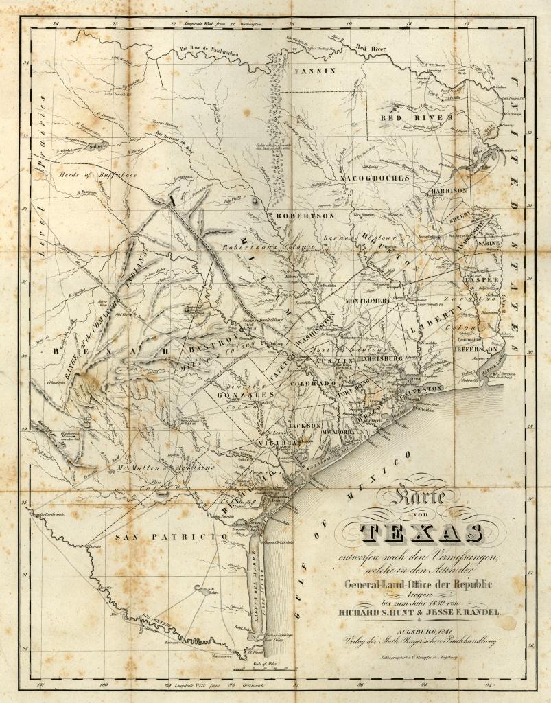 Texas Historical Maps - Perry-Castañeda Map Collection - Ut Library - Texas Historical Maps