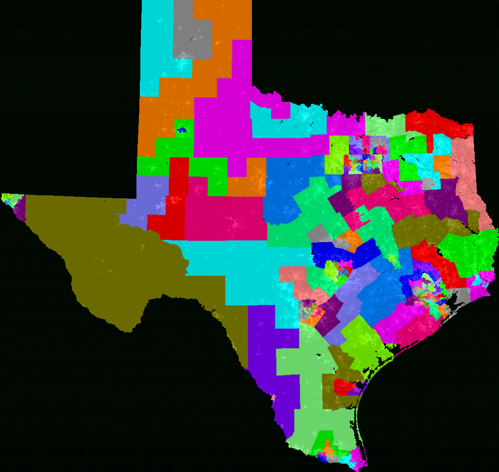 Texas House Of Representatives Redistricting - Texas State Representatives District Map