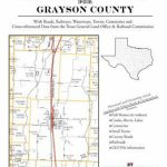 Texas Land Survey Maps For Grayson County: Buy Texas Land Survey   Texas Land Survey Maps Online