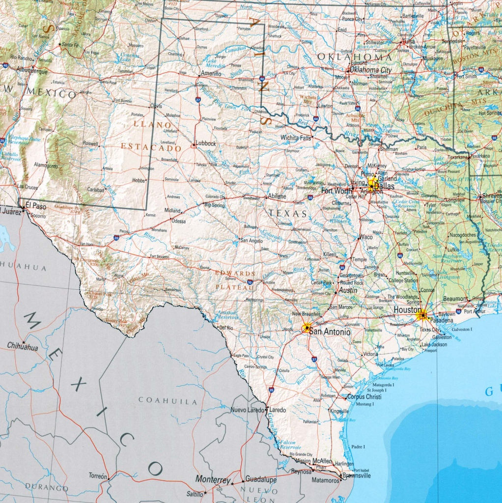 Texas Maps - Perry-Castañeda Map Collection - Ut Library Online - Google Maps Texas