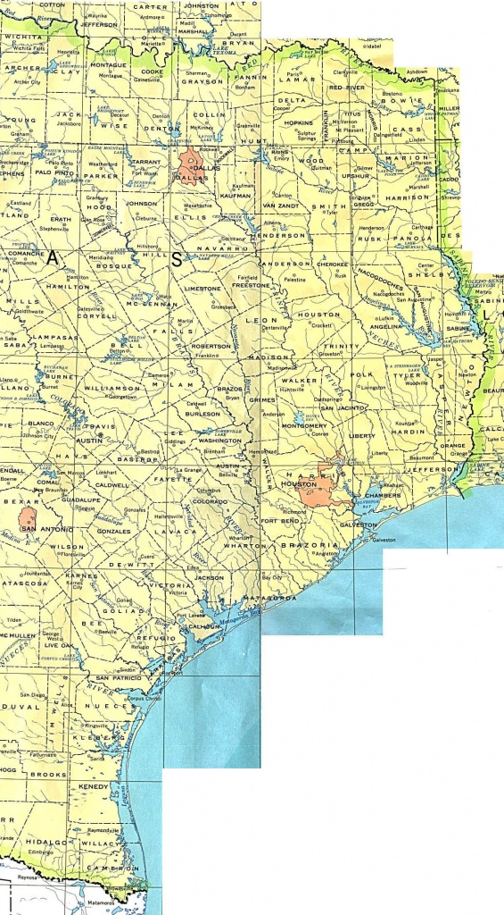 Texas Maps - Perry-Castañeda Map Collection - Ut Library Online - Map Of Texas Coastline