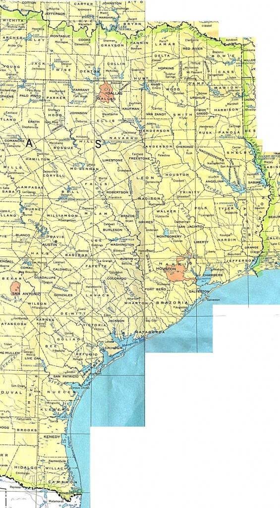 Texas Maps - Perry-Castañeda Map Collection - Ut Library Online - Texas Louisiana Border Map