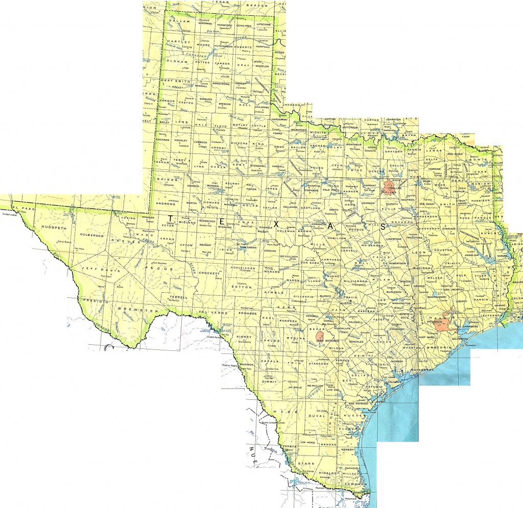Texas Maps - Perry-Castañeda Map Collection - Ut Library Online - Texas Maps For Sale
