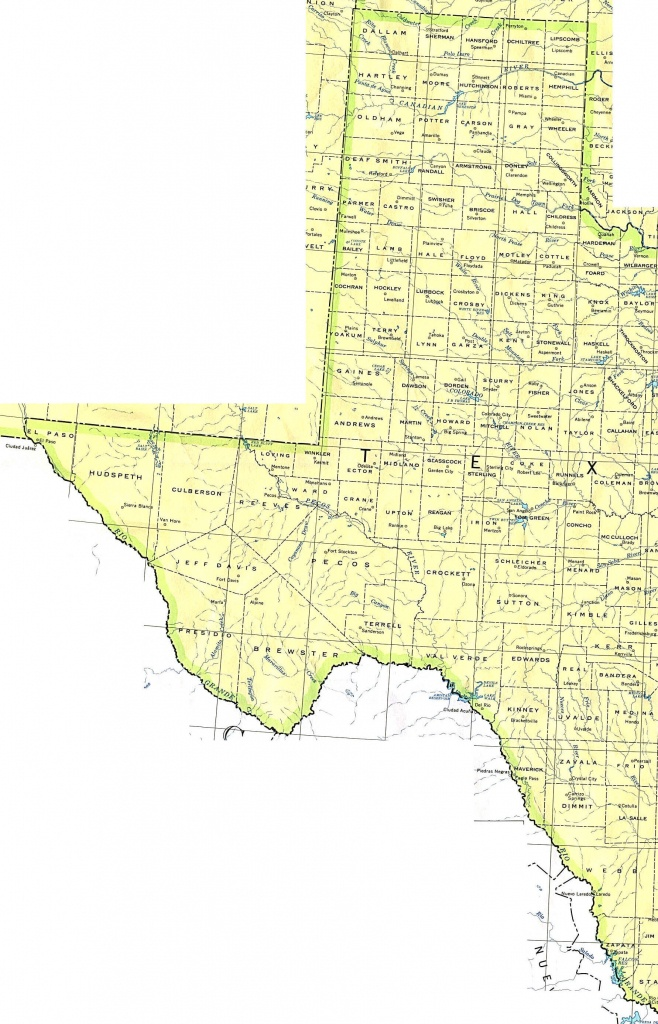 Texas Maps - Perry-Castañeda Map Collection - Ut Library Online - Texas Road Map Google
