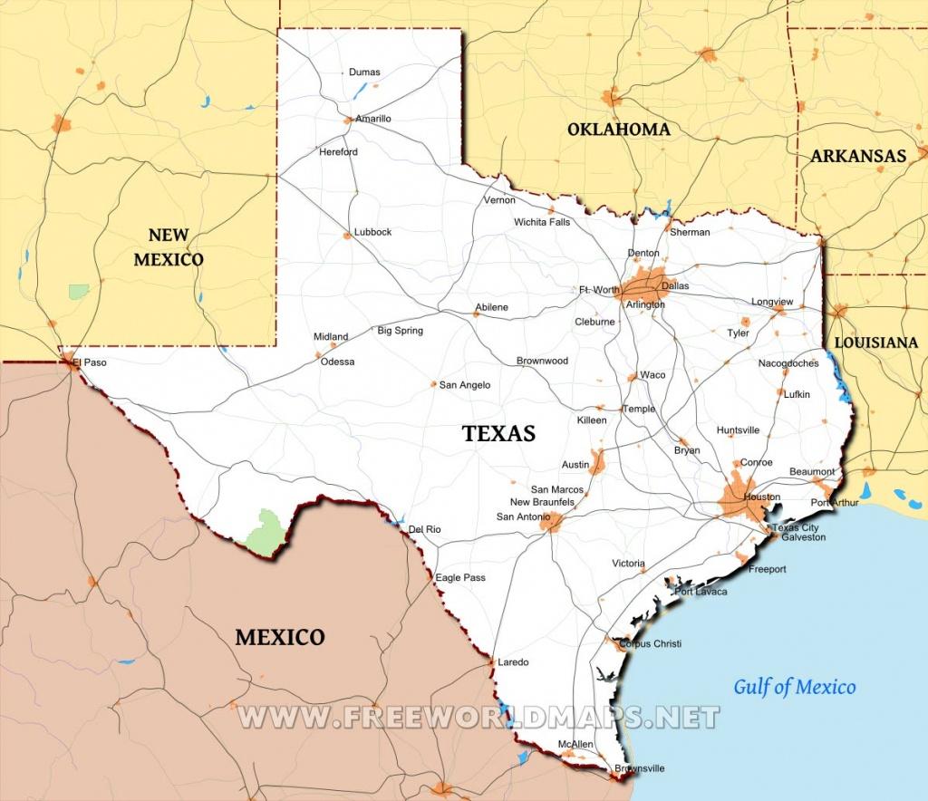 Texas Maps - Spring Texas Map