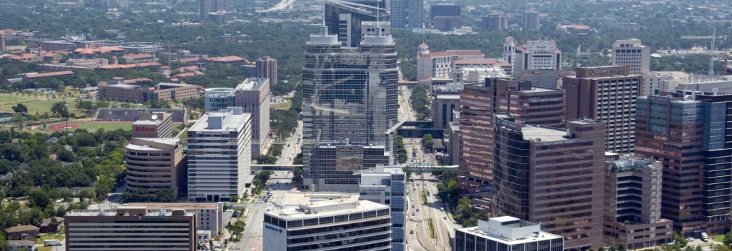 Texas Medical Center | About Houston, Texas - Texas Medical Center Map