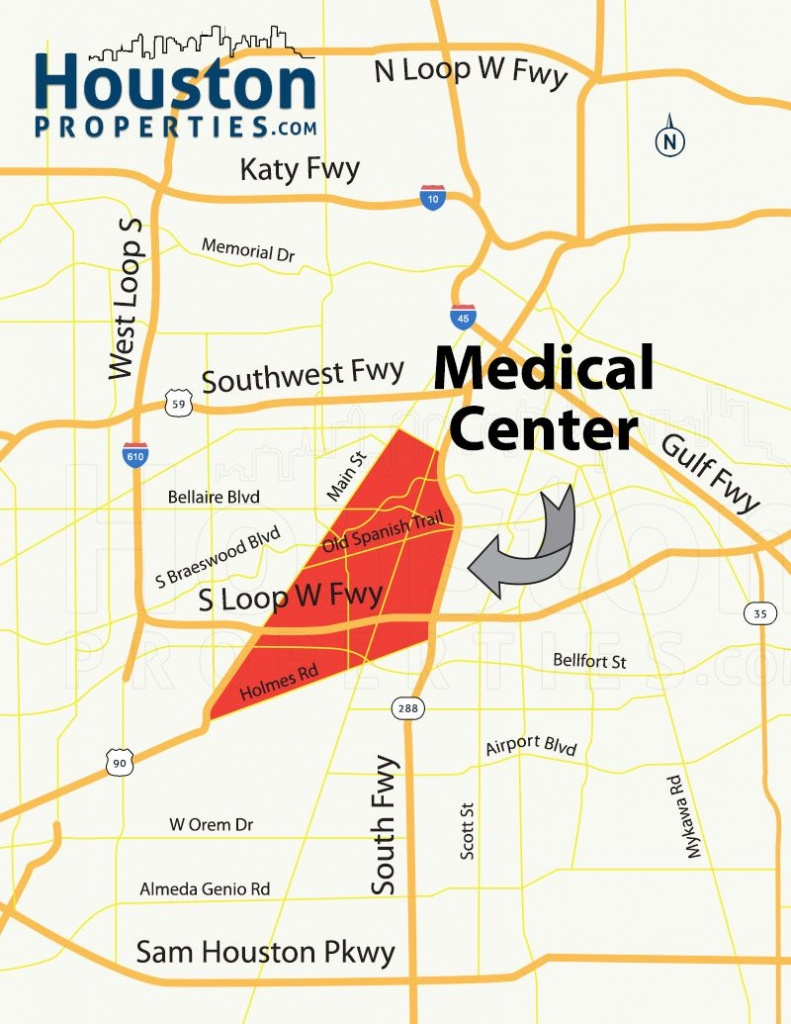 Texas Medical Center Houston Homes & Neighborhood Guide | For Chris - Texas Medical Center Map