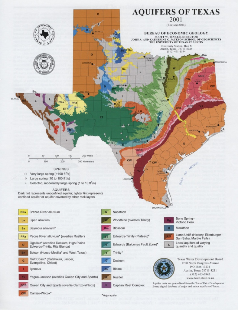 Texas Real Estate Sales Aquifer Maps - Texas Land For Sale Map