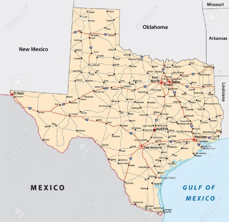 Big Spring Texas Map