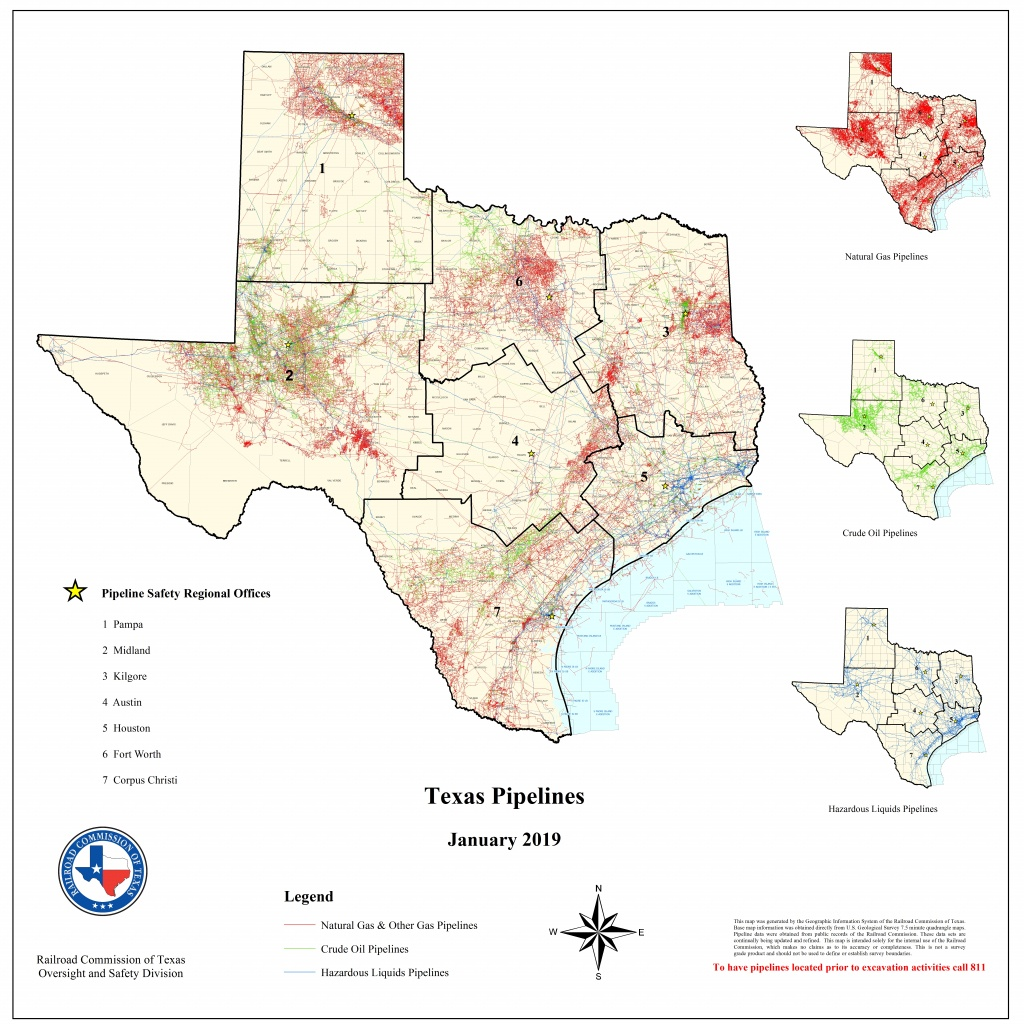 Texas Rrc - Special Map Products Available For Purchase - Texas Gas Pipeline Map