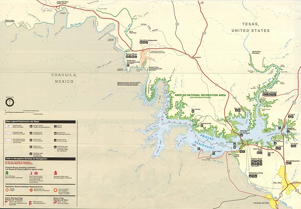 Texas State And National Park Maps - Perry-Castañeda Map Collection - Texas Trails Maps