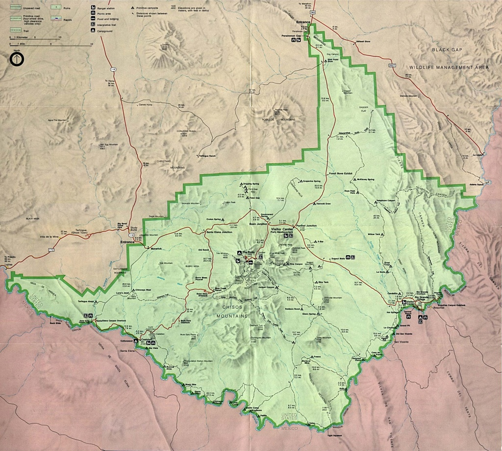 Texas State And National Park Maps - Perry-Castañeda Map Collection - Texas Wildlife Refuge Map
