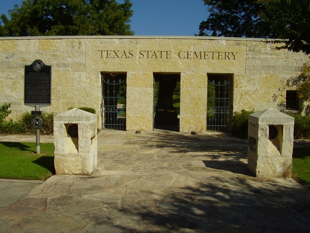 Texas State Cemetery - Wikipedia - Texas State Cemetery Map