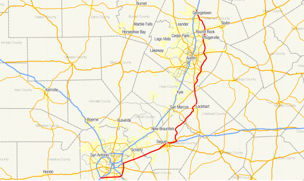 Texas State Highway 130 - Wikipedia - Cedar Park Texas Map