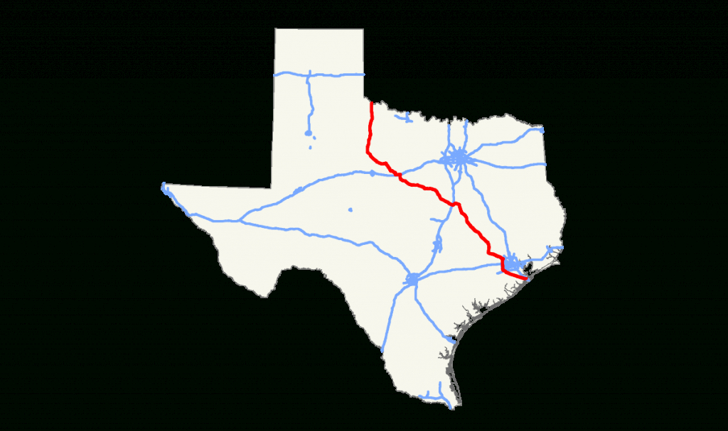 Texas State Highway 6 - Wikipedia - Map Of Texas Highways And Interstates