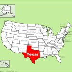 Texas State Maps   Usa   Maps Of Texas (Tx) - Full Map Of Texas