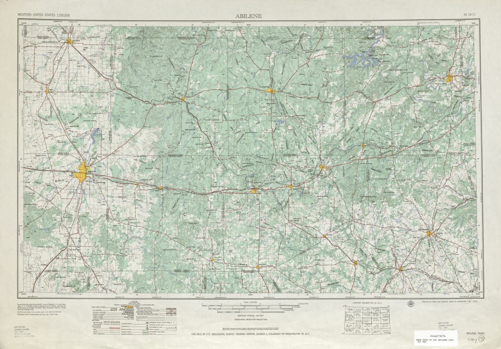 Texas Topographic Maps - Perry-Castañeda Map Collection - Ut Library - Interactive Elevation Map Of Texas