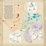 Texas Wine Country Map   Cherokee Texas • Mappery   Texas Wine Trail Map