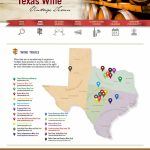 Texas Wine Trails   Texas Wine Trail Map