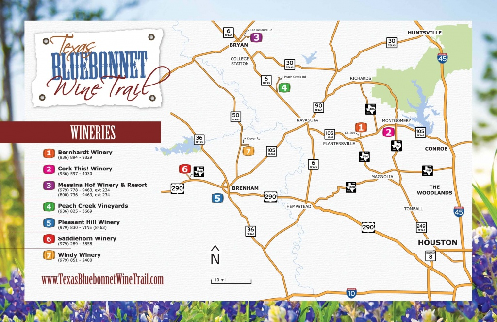 Texas Winery Map   Business Ideas 2013 - Texas Winery Map
