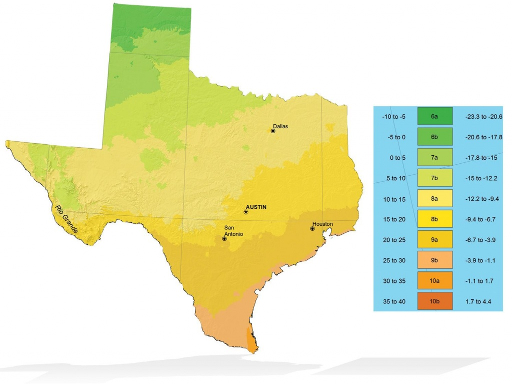 Texas Zone Elevation Map | Info Graphics | Texas Plants, Plants - Texas Elevation Map