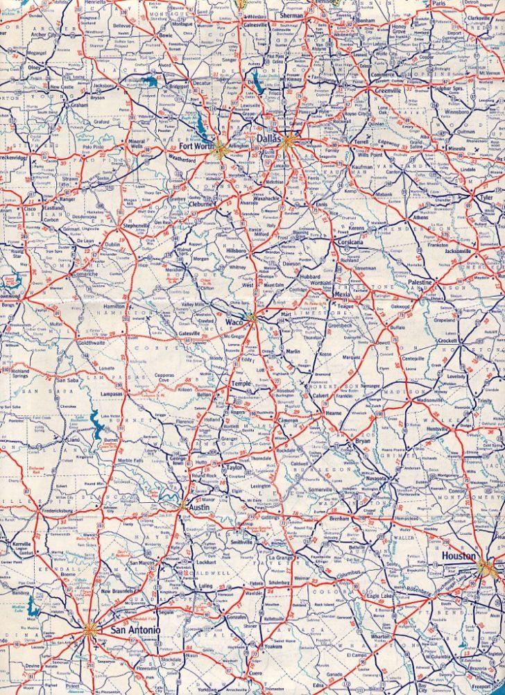 Austin Texas Road Map