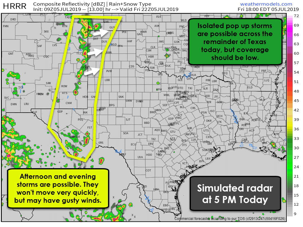 Texas's Weather Archives • Texas Storm Chasers - West Texas Weather Map