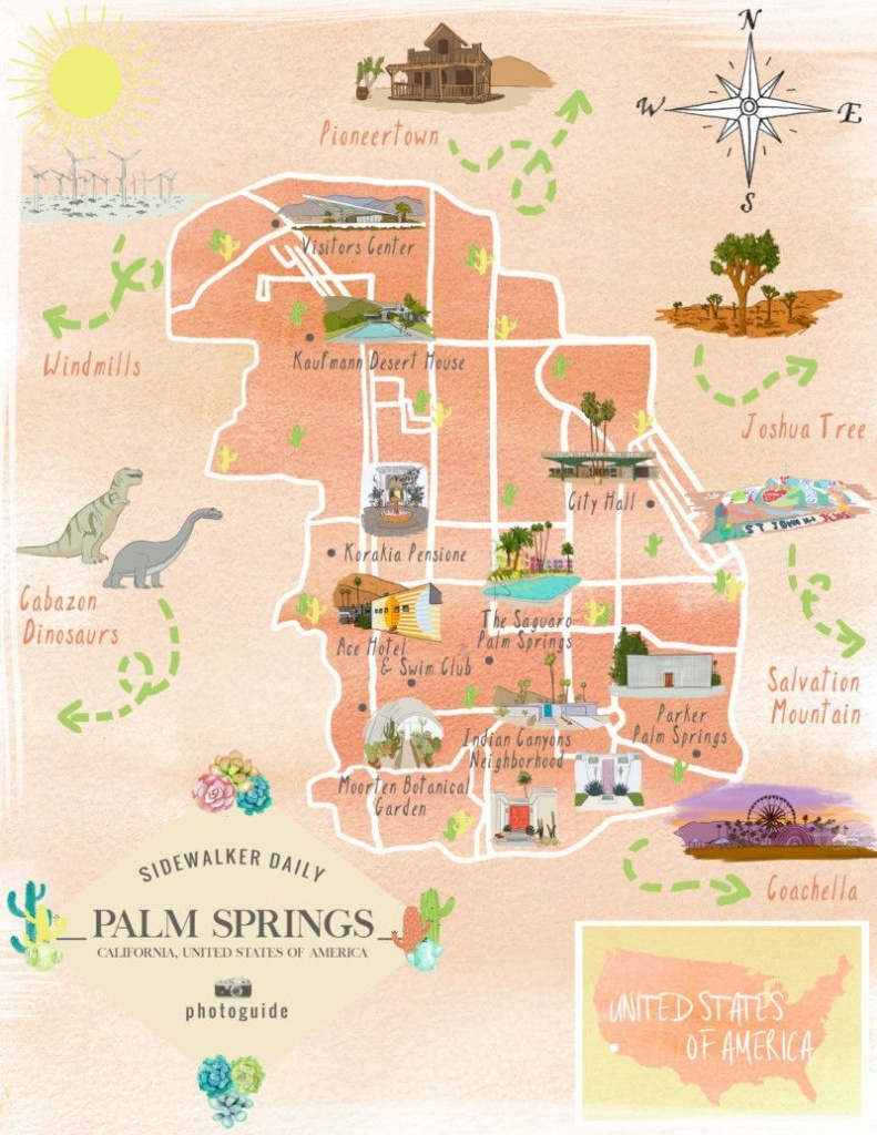 The 37 Best Places To Take Pictures In Palm Springs | Palm Springs - Where Is Palm Springs California On A Map