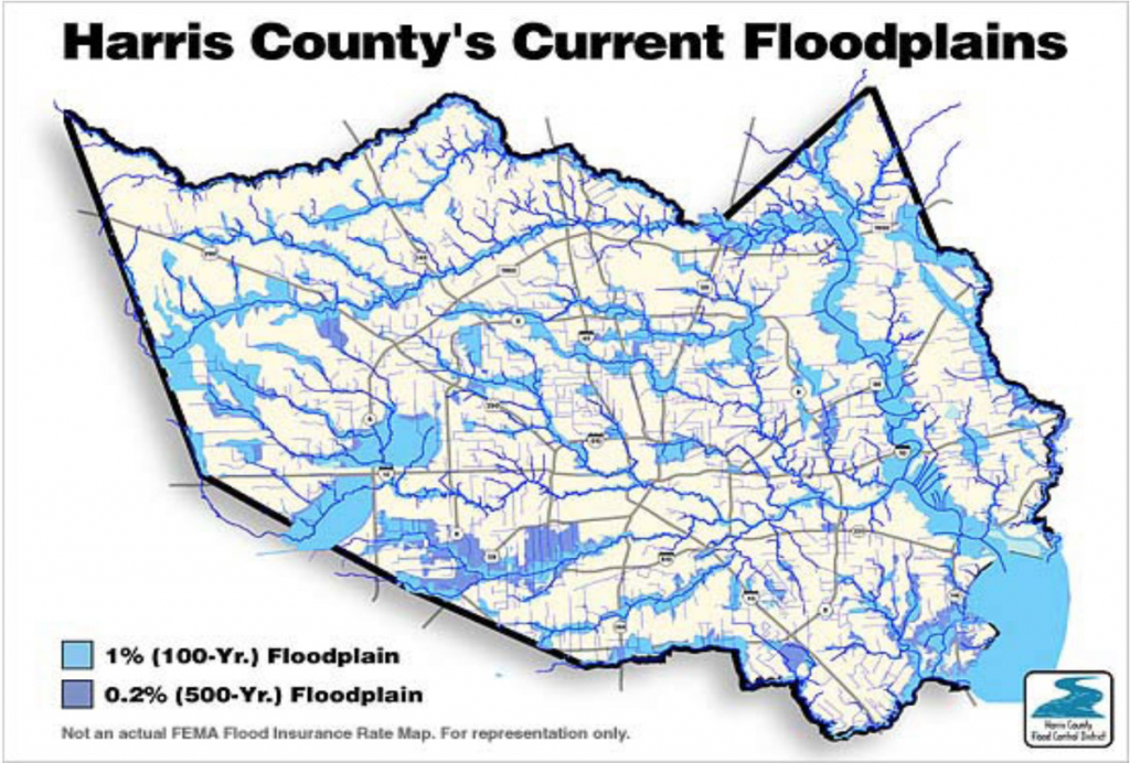 """The """"500-Year"""" Flood, Explained: Why Houston Was So Underprepared - Map Of Flooded Areas In Houston Texas"""