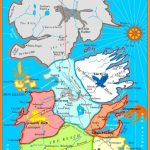 The Best Printable Map Of Westeros. Not Too Detailed To Print On One   Printable Map Of Westeros