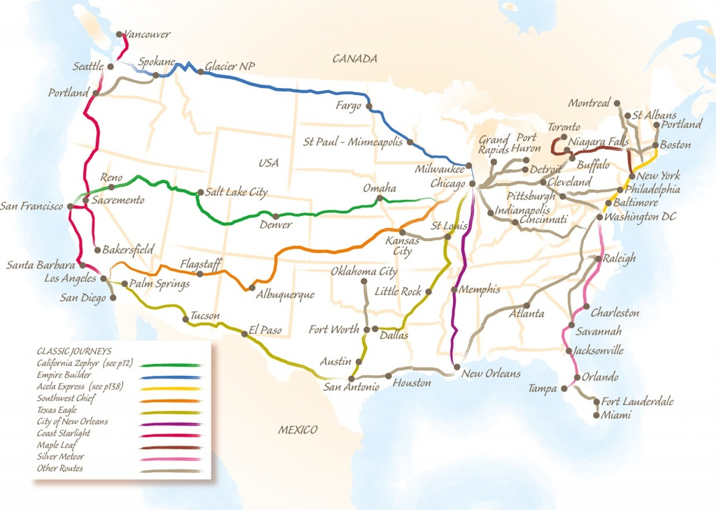 The California Zephyr - Trailfinders The Travel Experts - California Zephyr Map