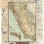 The Cyclers' Guide And Road Book Of California: Containing Map Of   California Road Map Book