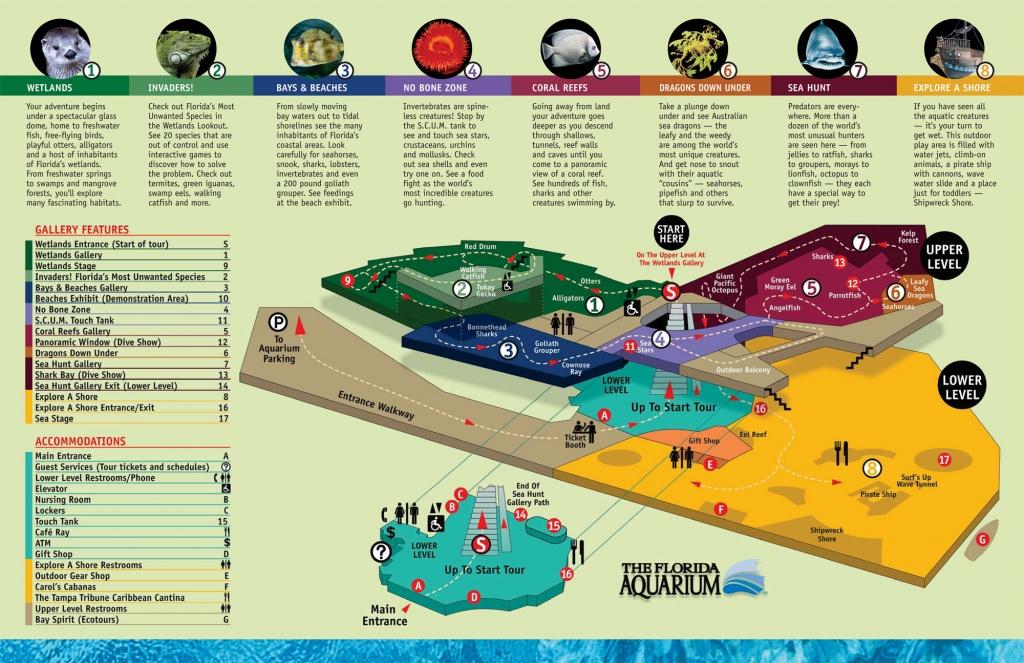 The Florida Aquarium Map - 701 Channelside Drive Tampa Florida Usa - Florida Aquarium Map