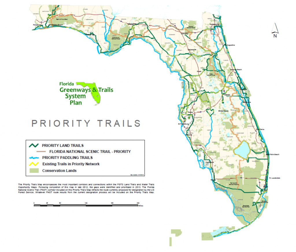 The Florida Greenways And Trails System (Fgts) Save The Date - Florida Greenways And Trails Map