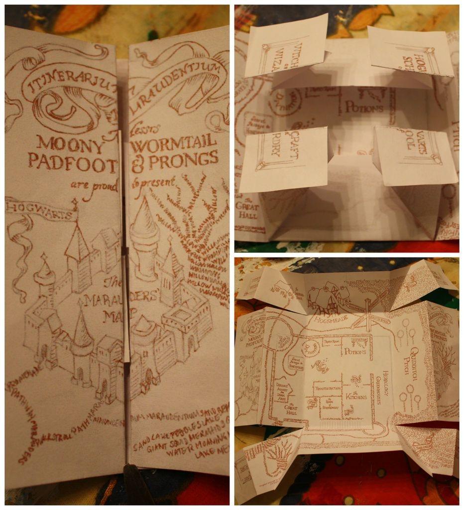The Marauders Map | Potterlove | Harry Potter Marauders Map, Harry - Harry Potter Map Marauders Free Printable