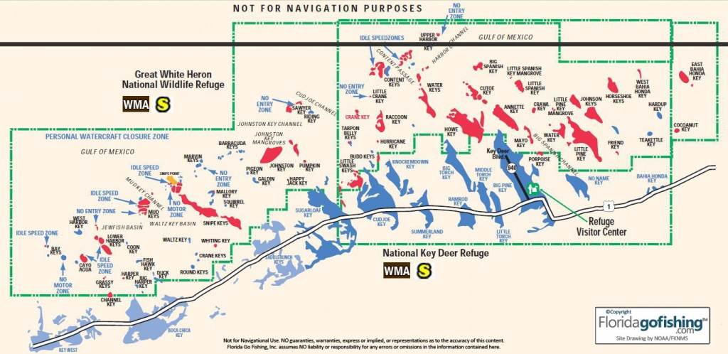 The Middle Keys Monroe County Gps Coordinates Reefs Shipwrecks - Florida Fishing Reef Map