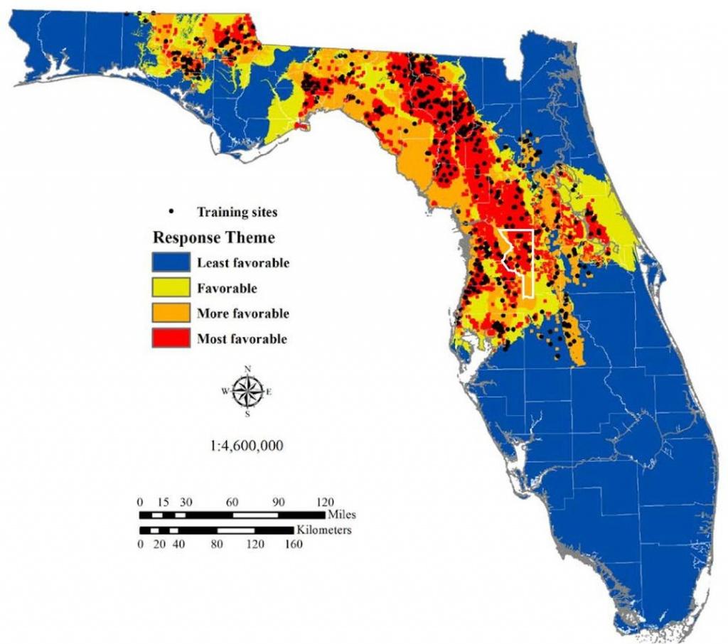 The Science Behind Florida's Sinkhole Epidemic | Science | Smithsonian - Hudson Florida Map