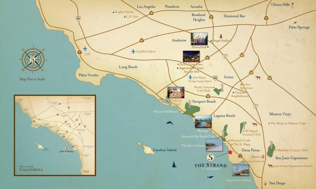 The Strand At Headlands   Dana Point, Ca - Dana Point California Map
