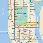The Subway Map Of New York's Coffee Shops | Hanging Out In Ny | Nyc - Nyc Subway Map Manhattan Only Printable