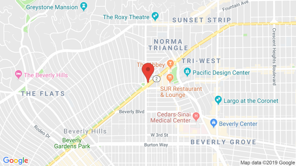 The Troubadour In West Hollywood, Ca - Concerts, Tickets, Map - Map Of West Hollywood California