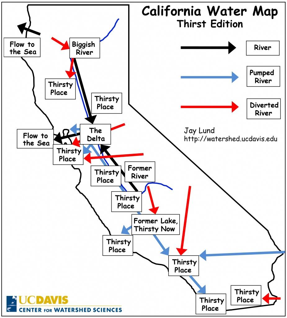 The Ultimate California Water Cheat Sheet | California Waterblog - California Water Rights Map