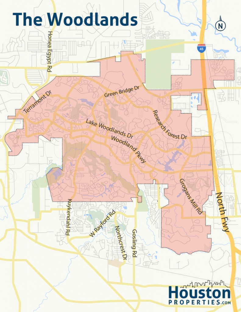 The Woodlands Tx Real Estate | Woodlands Homes For Sale - Map Of Subdivisions In Magnolia Texas