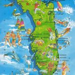 The World In Our Mailbox: Florida Map Card   Florida Vacation Map