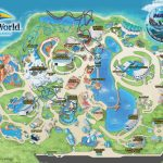 Theme Park & Attractions Map | Seaworld Orlando | Places I'd Like To   Seaworld Orlando Map 2017 Printable
