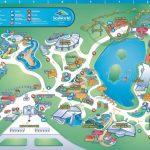 Theme Park Brochures Sea World San Antonio   Theme Park Brochures   Seaworld San Antonio Printable Map