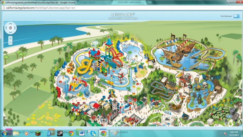 Theme Park Review • Legoland California Discussion Thread - Legoland California Water Park Map