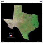 These Us Geological Survey Satellite Maps Were Made With Tri Decadal   Satellite Map Of Texas